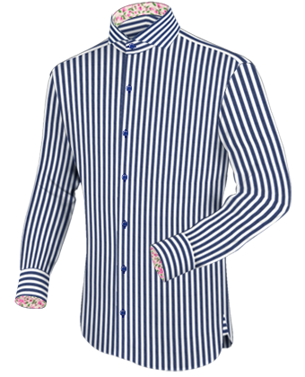 Blue+and+white+pinstripe+shirt