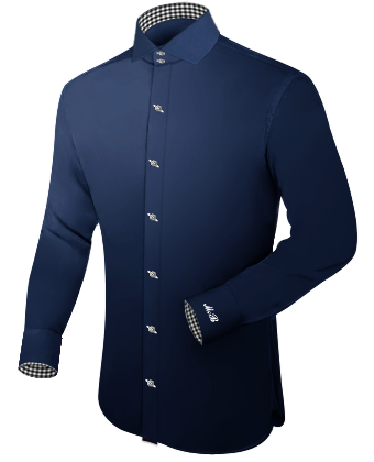 Mens Shirts With Inside Collar Design