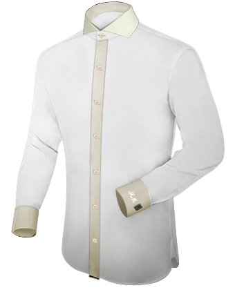Tailor Made Shirts with Cut Away 1 Button