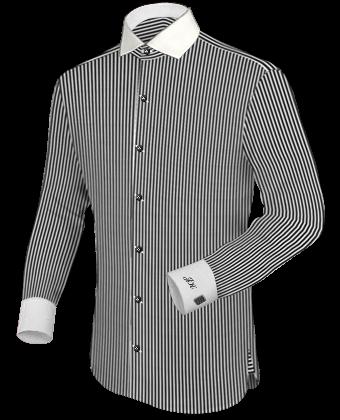 Tie bar shirt for Tie bar collar shirt