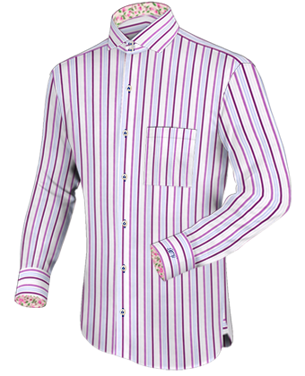 Mens Tab Collar Dress Shirts