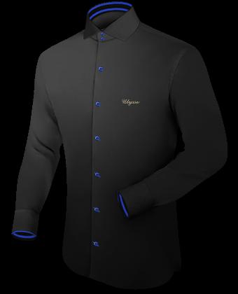 Black Cufflink Shirt