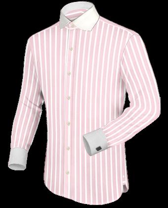 Mens round collar shirts for Round collar shirt men