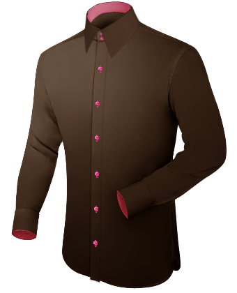 Slim Fit Dress Shirts with French Collar 2 Button