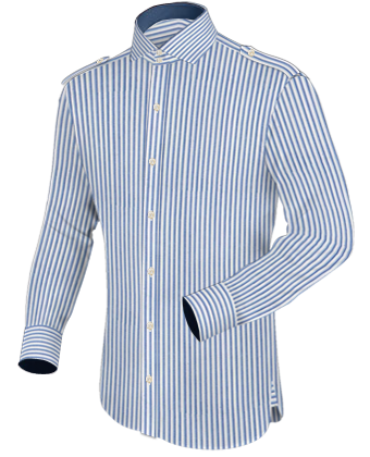 low collar shirts modern clothing designers