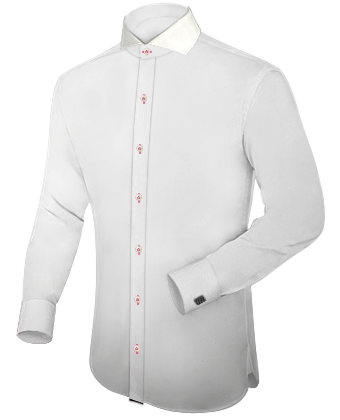 Wide spread collar dress shirts for Wide spread collar shirt
