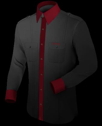 Custom Monogram Dress Shirts