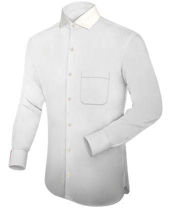 Royal Navy Tailored White Shirt