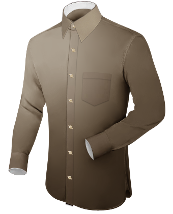 itailor shirts with cufflink holes