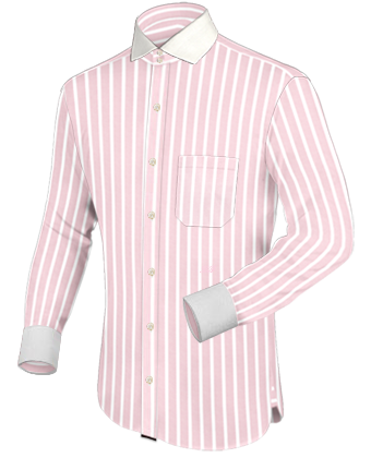 Club Collar Dress Shirts