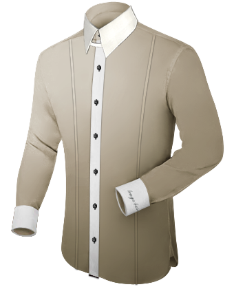 Custom Monogrammed Mens Dress Shirts