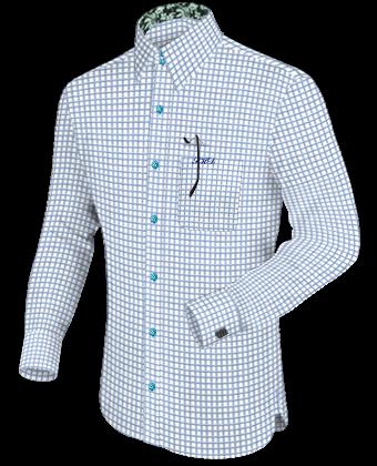 Collar Bar Dress Shirts