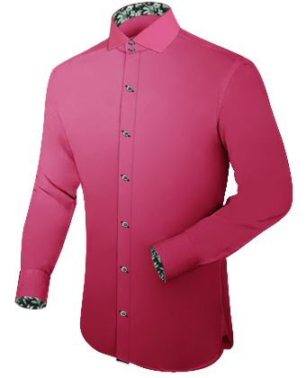 Online Custom Made Shirts with Italian Collar 2 Button