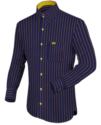 19.5 Collar Shirt Cheap with French Collar 2 Button