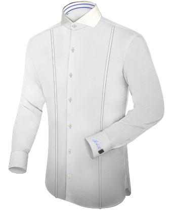 Shirts Online Ireland with Cut Away 1 Button
