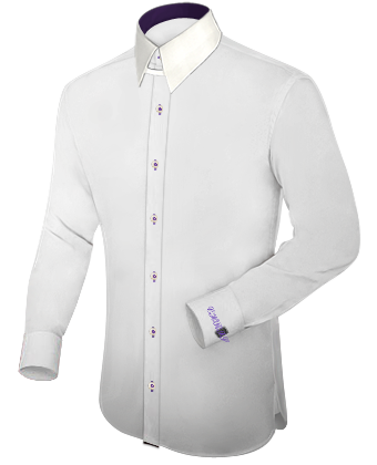 Dinner Shirt with Tab