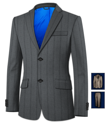Groom Suits with 2 Buttons, Single Breasted