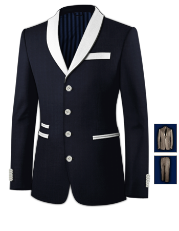 Mens Silk Suits