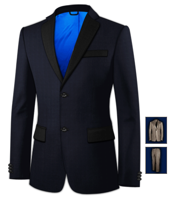 Mens Suits Online with 2 Buttons, Single Breasted