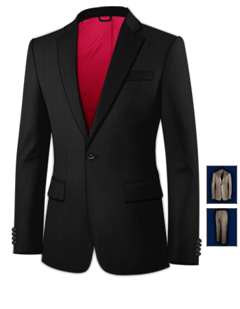 Teddy Boy Style Drape Suits For Sale with 1 Button, Single Breasted