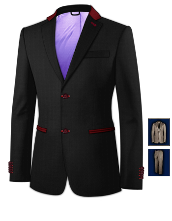 Bespoke Tailor with 2 Buttons, Single Breasted