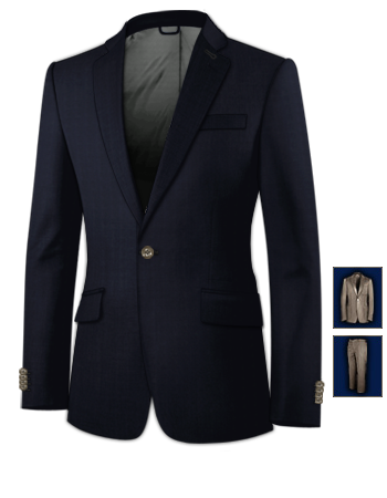 Wish Suits with 1 Button, Single Breasted
