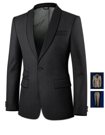 Page Boy Suits Groom And Ushers with 1 Button, Single Breasted